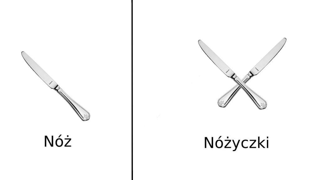 noże w kuchni do krojenia kuchennych sera