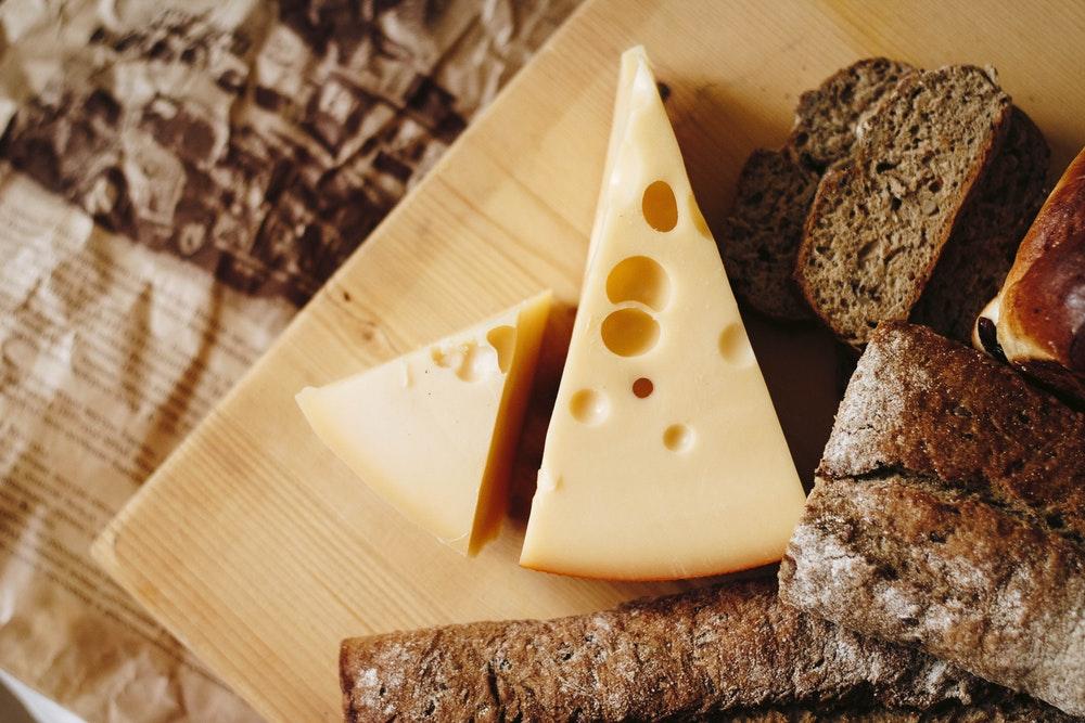 smażony ser z czeskiej kuchni czeskiej