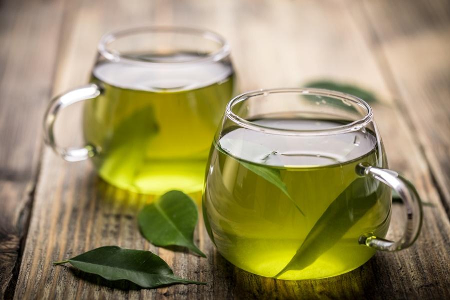 Zielona herbata ilość napar japonii katechiny choroby parzyć smaku jakości raka